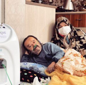 اسدالله یکتا از بازیگران ایرانی مبتلا به کرونا