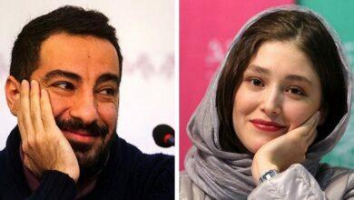 ازدواج نوید محمدزاده و فرشته حسینی