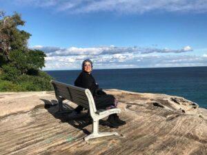 پانته آ بهرام در سواحل استرالیا