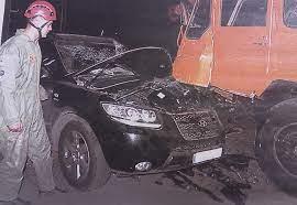 تصادف شدید باران کوثری