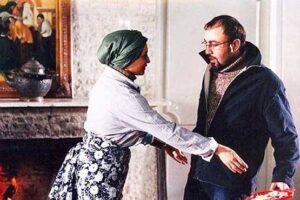 رضا عطاران و مریم کاویانی در نمایی از فیلم هوو