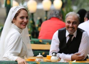 رضا عطاران و مهناز افشار در نمایی از فیلم نهنگ عنبر 2