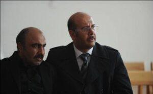 محمد بحرانی و رضا عطاران در فیلم طبقه حساس