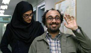 ویشکا آسایش و رضا عطاران در ورود آقایان ممنوع