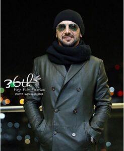 امین حیایی در جشنواره فیلم فجر