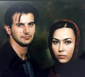 عکس قدیمی امین حیایی در کنار پرستو صالحی