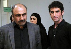 رضا عطاران و آزاده صمدی و هوتن شکیبا در فیلم طبقه هساث