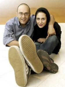 رامبد جوان و همسر اولش ماندانا روحی