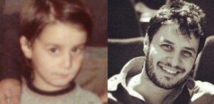 عکس کودکی جواد عزتی
