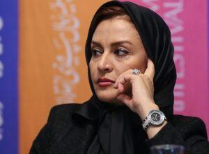 تیپ مشکی مریلا زارعی در جشنواره فج