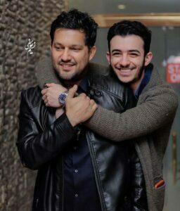 حامد بهداد در کنار علی شادمان