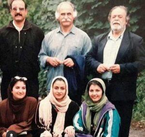 عکس قدیمی مریلا زارعی در کنار دیگر بازیگران