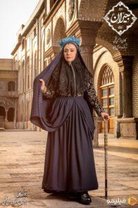 گریم و لباس مریلا زارعی در فیلم جیران