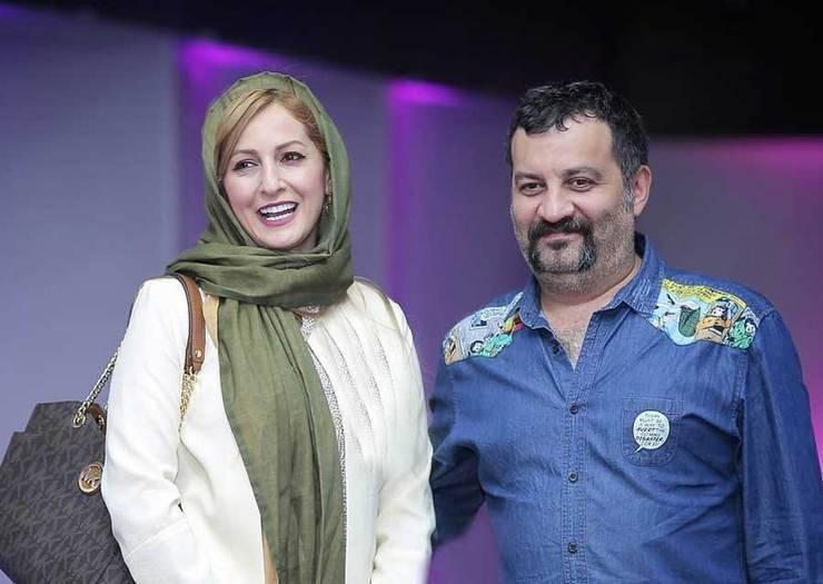شقایق دهقان و مهراب قاسم خانی با پیراهن جین - جدایی شقایق دهقان و مهراب قاسم خانی