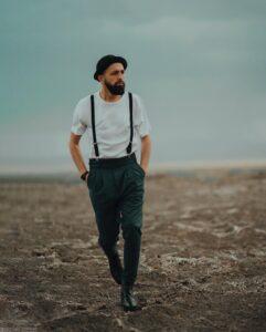 محسن افشانی در ساحل