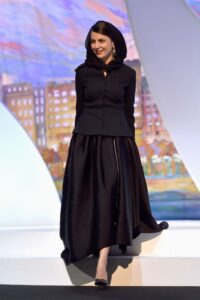 استایل شیک لیلا حاتمی در جشنواره خارجی