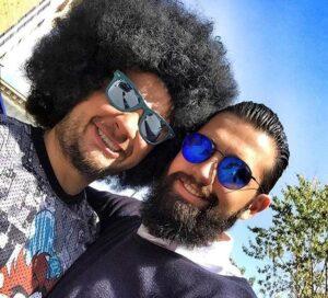 محسن افشانی و علی صادقی