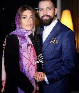 محسن افشانی و همسرش سویل