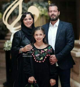 پژمان بازغی و خانواده اش